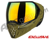 Empire EVS Paintball Mask - Olive/Black w/ Fire Lens