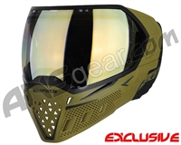 Empire EVS Paintball Mask - Olive/Black w/ HD Gold Lens