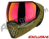 Empire EVS Paintball Mask - Olive/Black w/ Sunset Lens