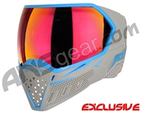 Empire EVS Paintball Mask - Grey/Cyan w/ Sunset Lens