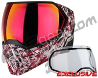 Empire EVS Paintball Mask - Nightmare Red