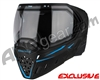 Empire EVS Paintball Mask - SE Blue Bottom/Black Frame w/ Clear Lens