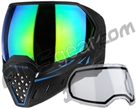 Empire EVS Paintball Mask - SE Blue Moon w/ Green Mirror Lens