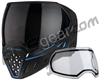 Empire EVS Paintball Mask - SE Blue Bottom/Black Frame w/ Ninja Lens