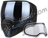 Empire EVS Paintball Mask - SE Blue Moon w/ Silver Fade Lens