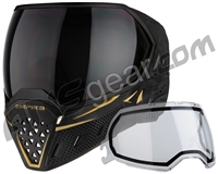 Empire EVS Paintball Mask - SE Shadow Gold w/ Ninja & Clear Lens