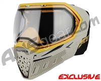 Empire EVS Paintball Mask - SE Grey Bottom/Gold Frame w/ Clear Lens