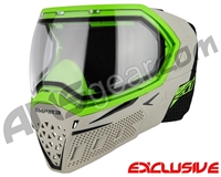 Empire EVS Paintball Mask - SE Grey Bottom/Lime Frame w/ Clear Lens