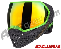 Empire EVS Paintball Mask - SE Weave Lime w/ Fire Lens