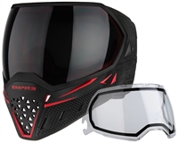 Empire EVS Paintball Mask - SE Widow w/ Ninja & Clear Lens