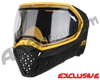 Empire EVS Paintball Mask - Stealth/Gold with Clear Lens
