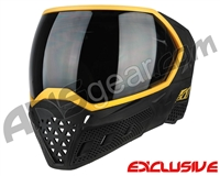 Empire EVS Paintball Mask - Stealth/Gold with Smoke Lens
