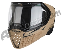 Empire EVS Paintball Mask - Tan/Black