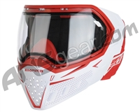Empire EVS Paintball Mask - White/Red