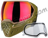 Empire EVS Paintball Mask w/ Additional Lens - Olive/Tan w/ Sunset Lens