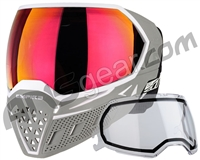 Empire EVS Paintball Mask w/ Additional Lens - White/Grey w/ Sunset Lens