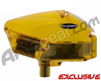Empire Halo Too SE Paintball Hopper - Diamond Yellow