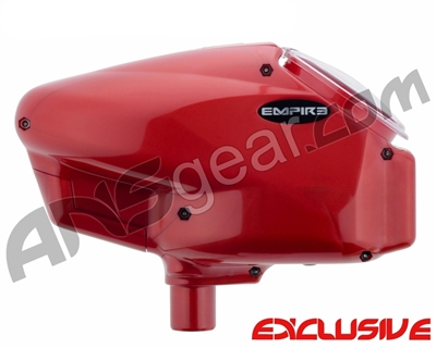 Empire Halo Too SE Paintball Hopper - Pearl Red