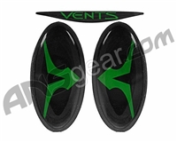 Empire Vents Mask Logo Set & Retainers - Green (22163)