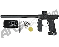 Empire Mini GS Paintball Gun w/ 2 Piece Barrel - Dust Black/Dust Black
