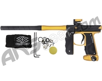 Empire Mini GS Paintball Gun w/ 2 Piece Barrel - Dust Black/Dust Gold (17393)