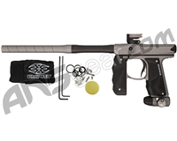 Empire Mini GS Paintball Gun w/ 2 Piece Barrel - Dust Dark Grey/Black