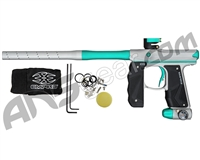 Empire Mini GS Paintball Gun w/ 2 Piece Barrel - Dust Grey/Teal