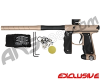 Empire Mini GS Paintball Gun w/ 2 Piece Barrel - Dust Tan/Black