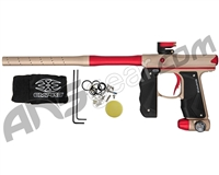 Empire Mini GS Paintball Gun w/ 2 Piece Barrel - Dust Tan/Red