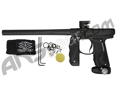 Empire Mini GS Paintball Gun w/ 1 Piece Barrel - Dust Black/Dust Black