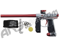 Empire Mini GS Paintball Gun - Dust Grey/Red