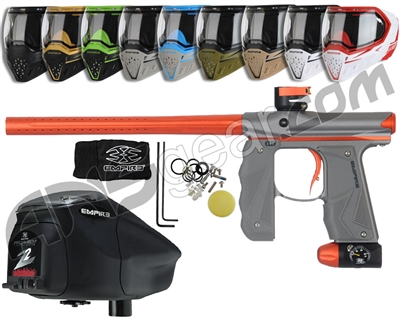 Empire Mini GS, EVS & Z2 Package Kit - Grey/Orange
