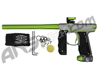 Empire Mini GS Paintball Gun - Grey/Green w/ Black Grips