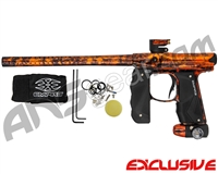 Empire Mini GS Paintball Gun - Polished Acid Wash Orange