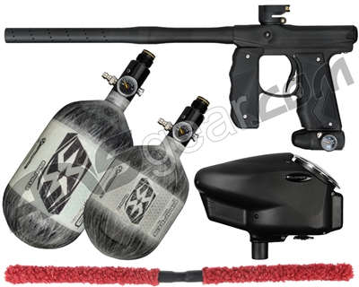 Empire Mini GS TP Competition Paintball Gun Package Kit