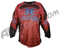 Empire 2016 Prevail F6 Paintball Jersey - Red