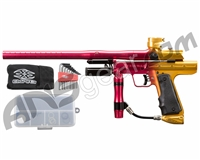 Empire Resurrection Autococker Paintball Gun - LTD Polished Fade Red/Gold