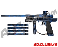 Blemished Empire Resurrection Autococker Paintball Gun - Polished Acid Wash Blue
