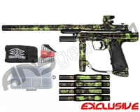 Empire Resurrection Autococker Paintball Gun - Polished Acid Wash Green