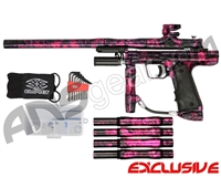 Empire Resurrection Autococker Paintball Gun - Polished Acid Wash Pink
