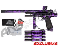 Empire Resurrection Autococker Paintball Gun - Polished Acid Wash Purple