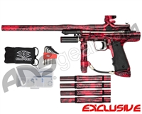 Empire Resurrection Autococker Paintball Gun - Polished Acid Wash Red