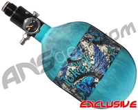 Empire Mega Lite 48/4500 Compressed Air Paintball Tank - Joker (Arctic/Teal)