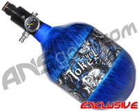 Empire Mega Lite 48/4500 Compressed Air Paintball Tank - Joker (Electric/Blue)