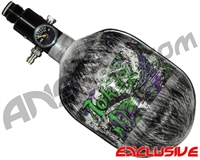 Empire Mega Lite 48/4500 Compressed Air Paintball Tank - Joker (Grey)