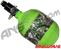 Empire Mega Lite 48/4500 Compressed Air Paintball Tank - Joker (Lime)