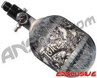 Empire Mega Lite 48/4500 Compressed Air Paintball Tank - Joker (Negative/Grey)