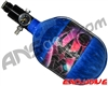 Empire Mega Lite 48/4500 Compressed Air Paintball Tank - Nebula (Blue)