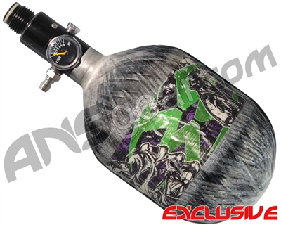 Empire Mega Lite 48/4500 Compressed Air Paintball Tank - Nightmare (Hulk/Grey)