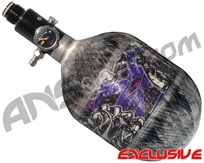 Empire Mega Lite 48/4500 Compressed Air Paintball Tank - Nightmare (Purple/Grey)